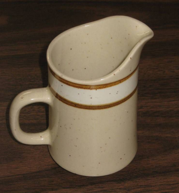 Rainbow Beige Stoneware... I love this pattern. My parents have this pattern. I'd gladly take it off their hands.
