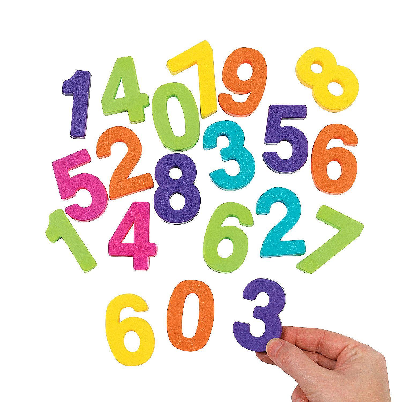50 Pc. Number Set Number
