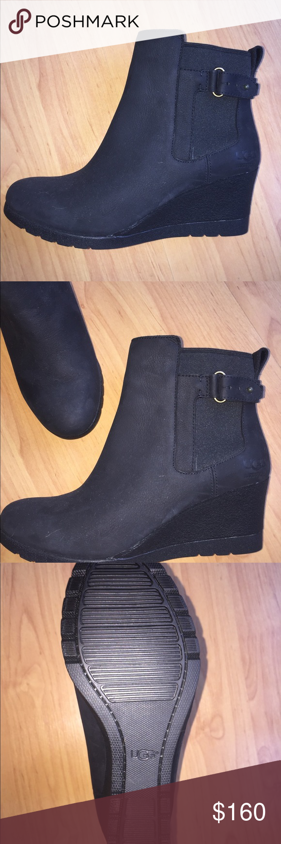 cadf166fb77 NWOT UGG Indra Waterproof Cold Weather Wedge Boots Out of stock on ...