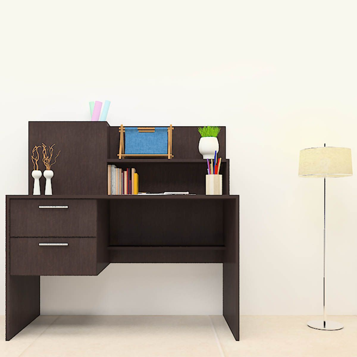chicala computer table with laminate finish pinterest study