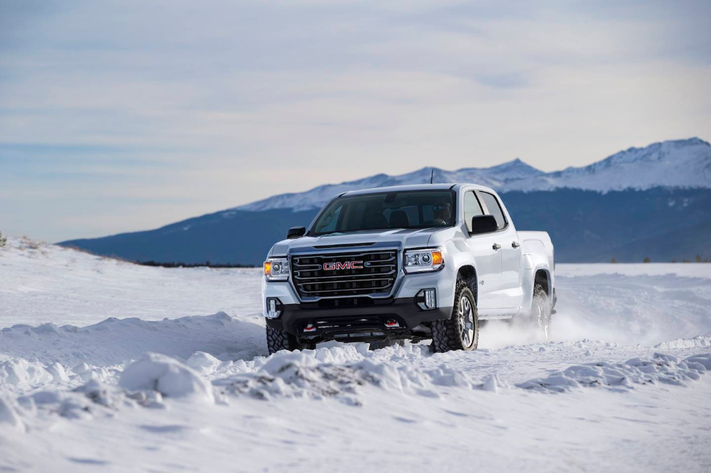 gmc introduces 2021 canyon at4 with more off