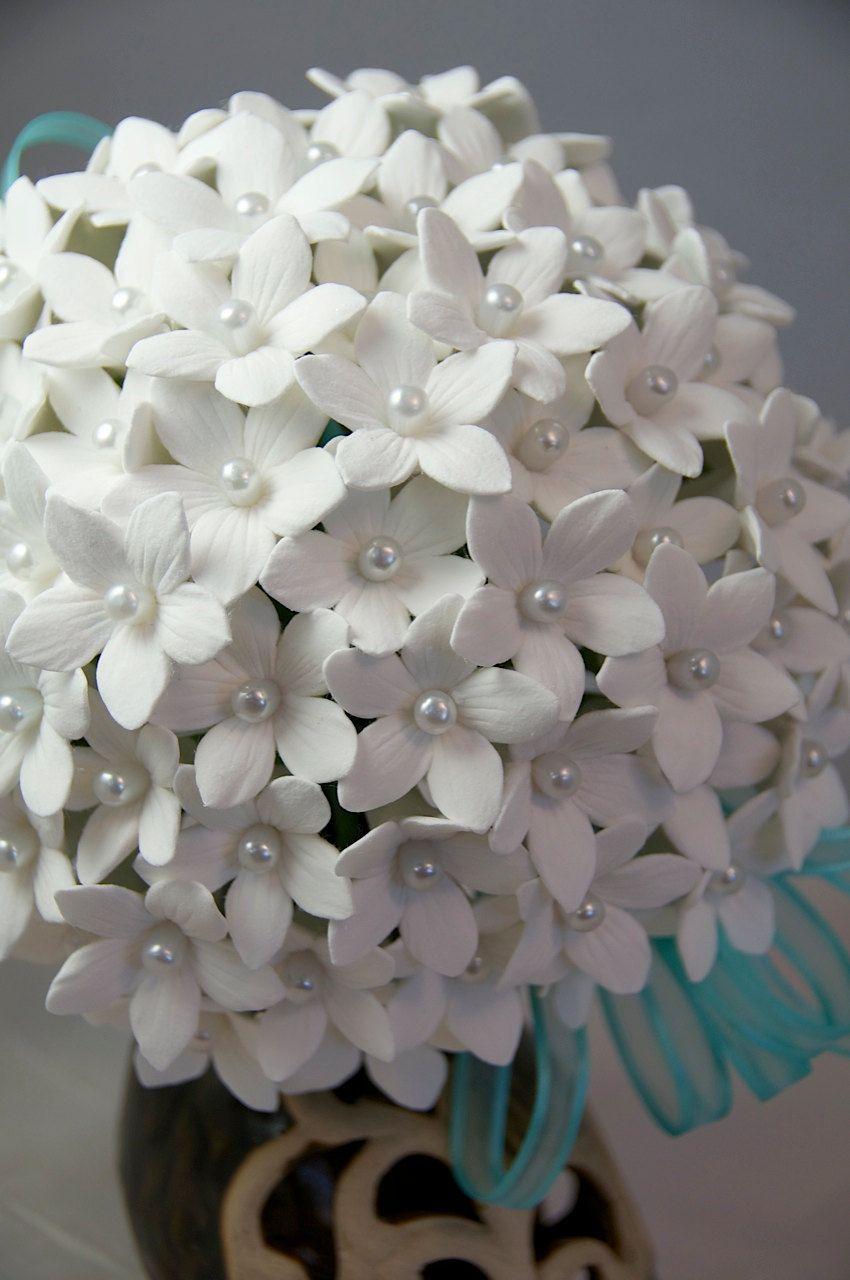 Wedding bouquet deco clay clay flowers pinterest clay flowers wedding bouquet deco clay izmirmasajfo