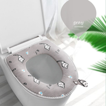 Gray Toilet Seat Cover Toilet Seat Covers Portable Toilet Seat