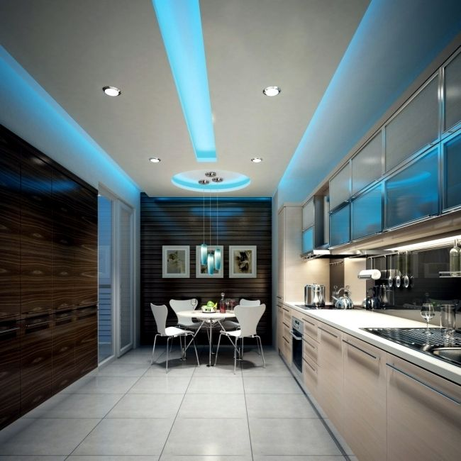 33 ideas for ceiling lighting and indirect effects of LED lighting  beautiful - If you need