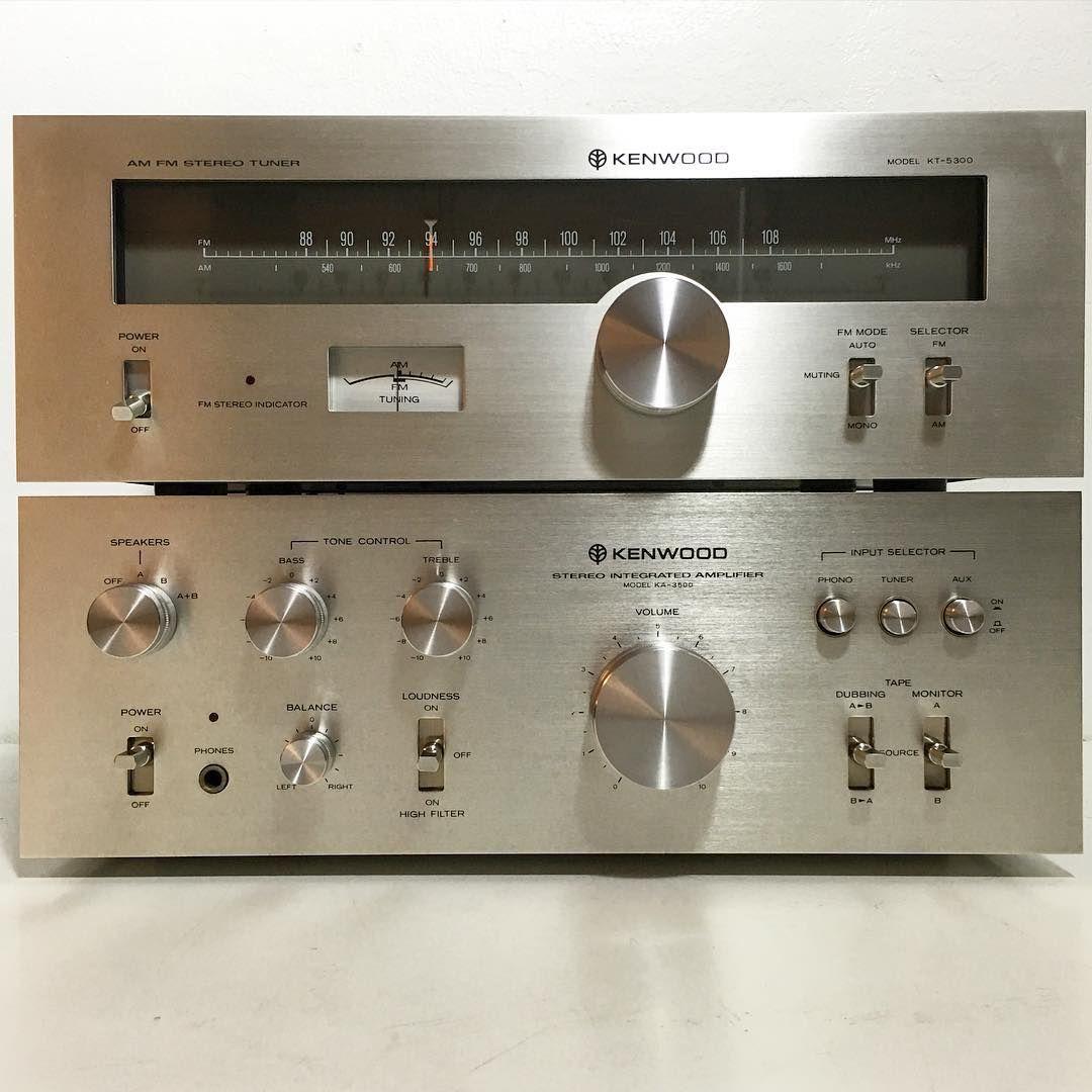 Instagram Kenwood Audio Kenwood Stereo Audio Amplifier