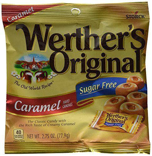 Werther's Original Hard Candy, Carame… | Sugar free candy ...