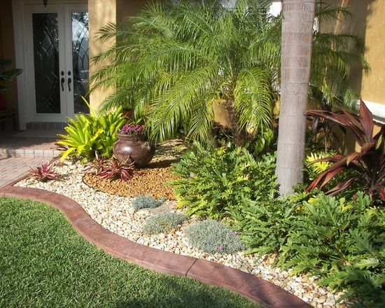 Florida Landscaping Ideas For Front Yard Small Design Pictures Remodel Decor