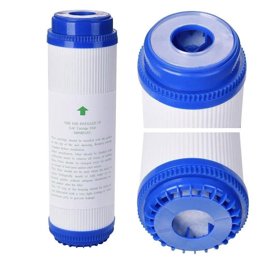 10 Inch Pre Filter Udf Filter Cartridge Gac Granular Activated Carbon Water Filter Taste Odor For Reverse Osmosis Reverse Osmosis System Carbon Water Filter