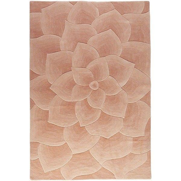 Rose Tufted Blush 8x10 Rug