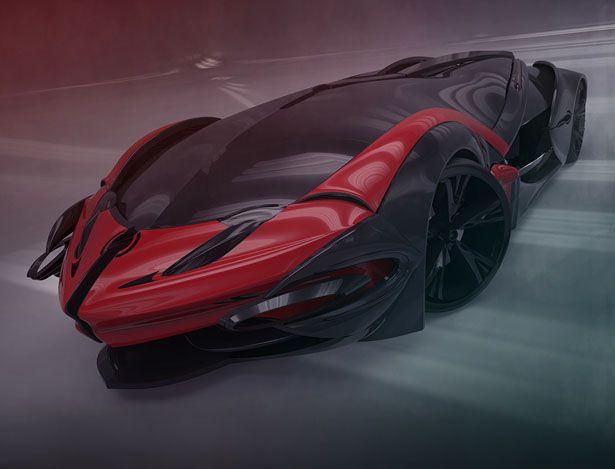 Designed As A Diploma Project QVONNE Represents Alex Ticarats Vision Of Futuristic Hyper Car Sleeping BagFuturisticAlex
