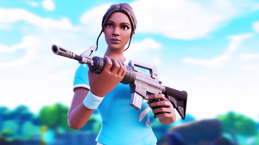 Fortnite Poised Playmaker Skin Rare Outfit Fortnite Skins Soccer Outfits Girls Soccer Fortnite