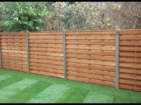 Wood Fence Panels Wood Fence Panels Brisbane Wood Fence Panels Bristol Halaman Belakang Pagar Horizontal Ide Pagar