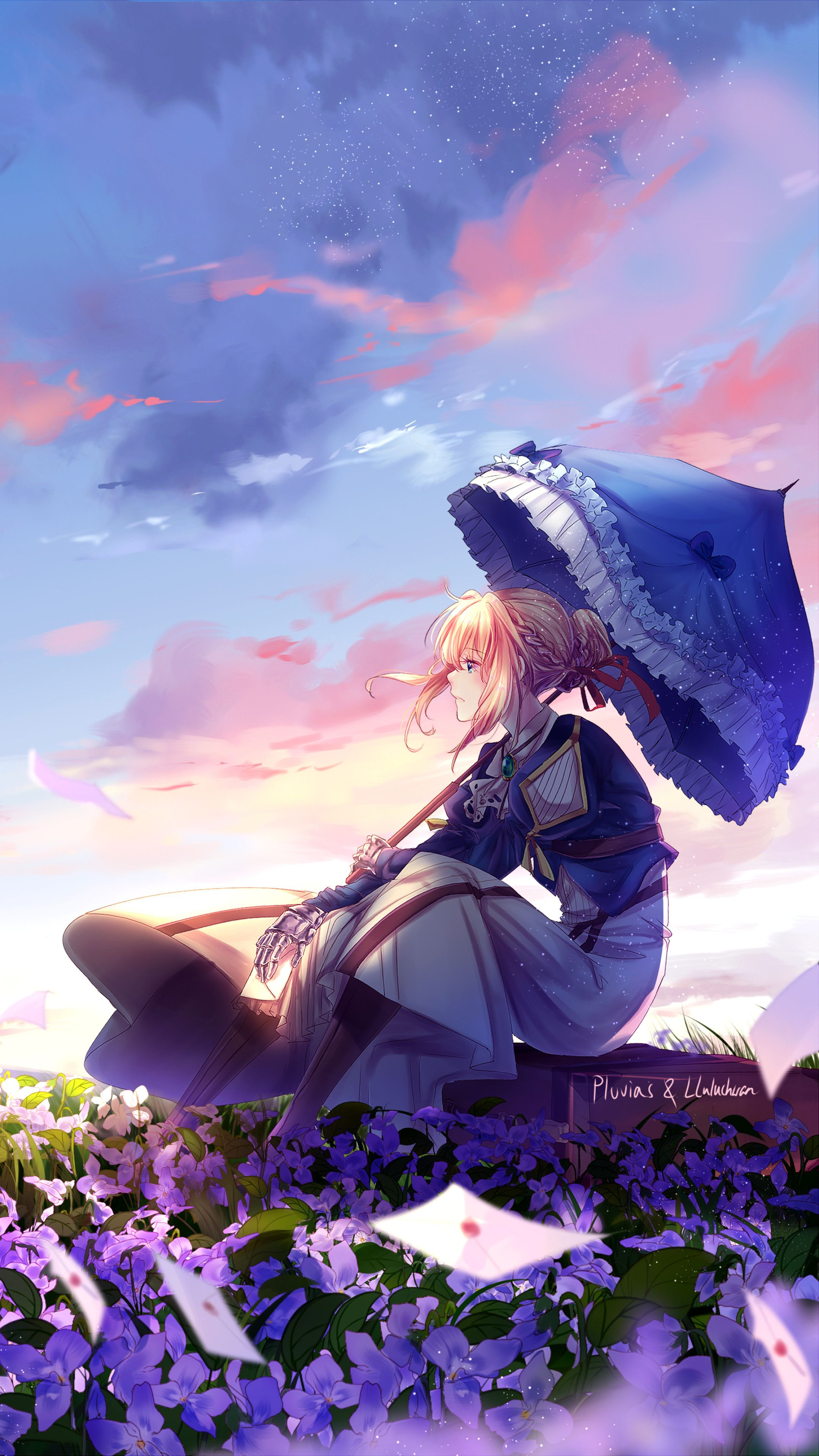 Anime Art Wallpaper Phone 2160x3840 Anime Violet Evergarden Art Sony Xperia X Xz Z5 Anime In 2020 Violet Evergarden Wallpaper Anime Wallpaper Violet Evergarden Anime