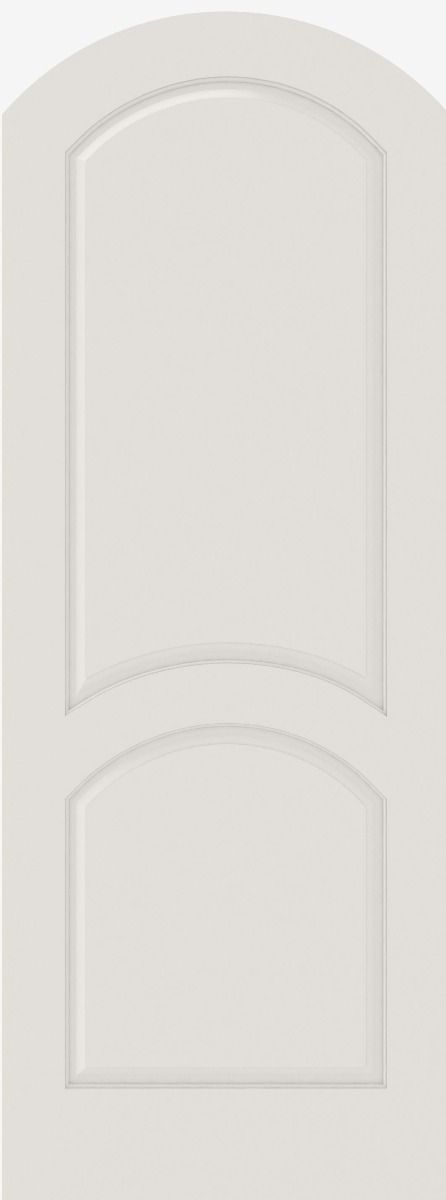 2030ar Mdf 2 Panel Arch Top And Panel Interior Single Door Single Doors Interior Doors