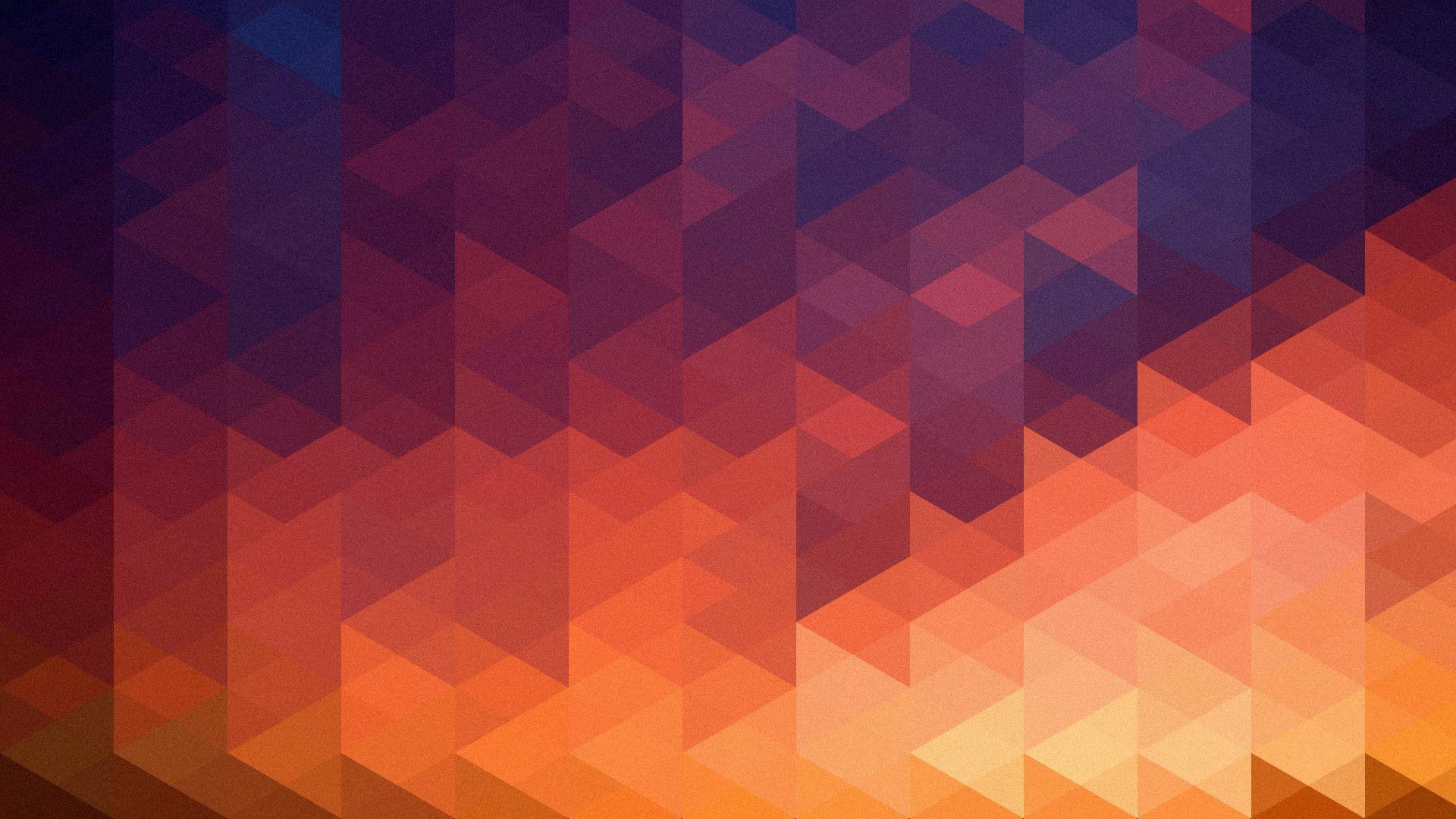 Geometric Multicolor Triangles Hd Wallpaper Fullhdwpp