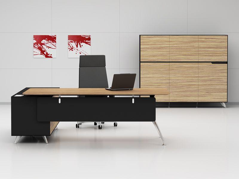 Arbeitszimmermöbel chefschreibtische büromöbelonline arbeitszimmermöbel livorno xl