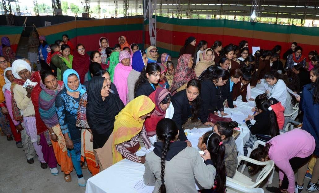 Free Eye Camp Day 2 organized at Shah Satnam Ji Dham, Dera