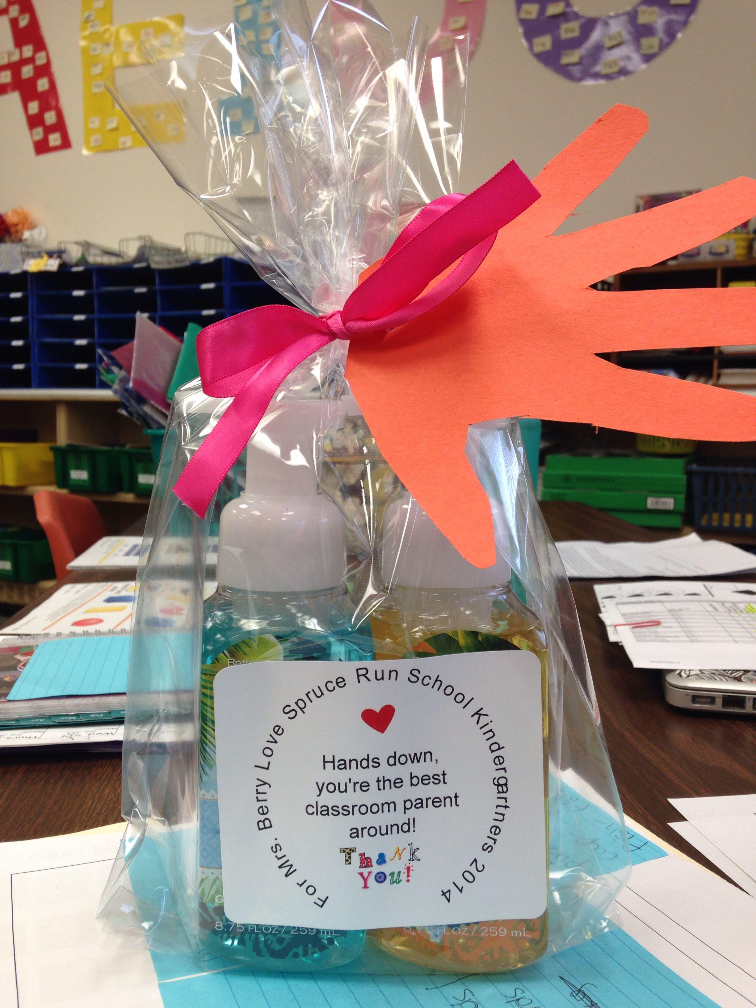 Home room parent gift hands down best classroom parent