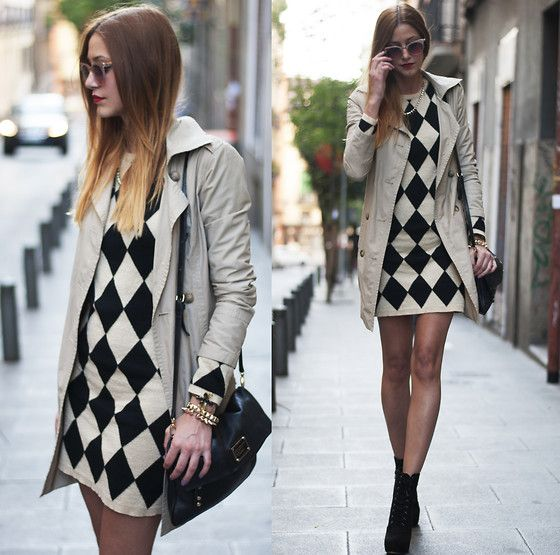 Sheinside Dress, Forever 21 Ankle Boots