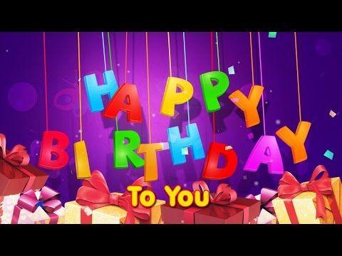 Happy birthday song (English - Frensh - Arabic - Spanish