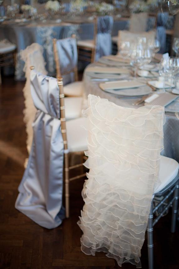 Wedding Ideas: chair cover