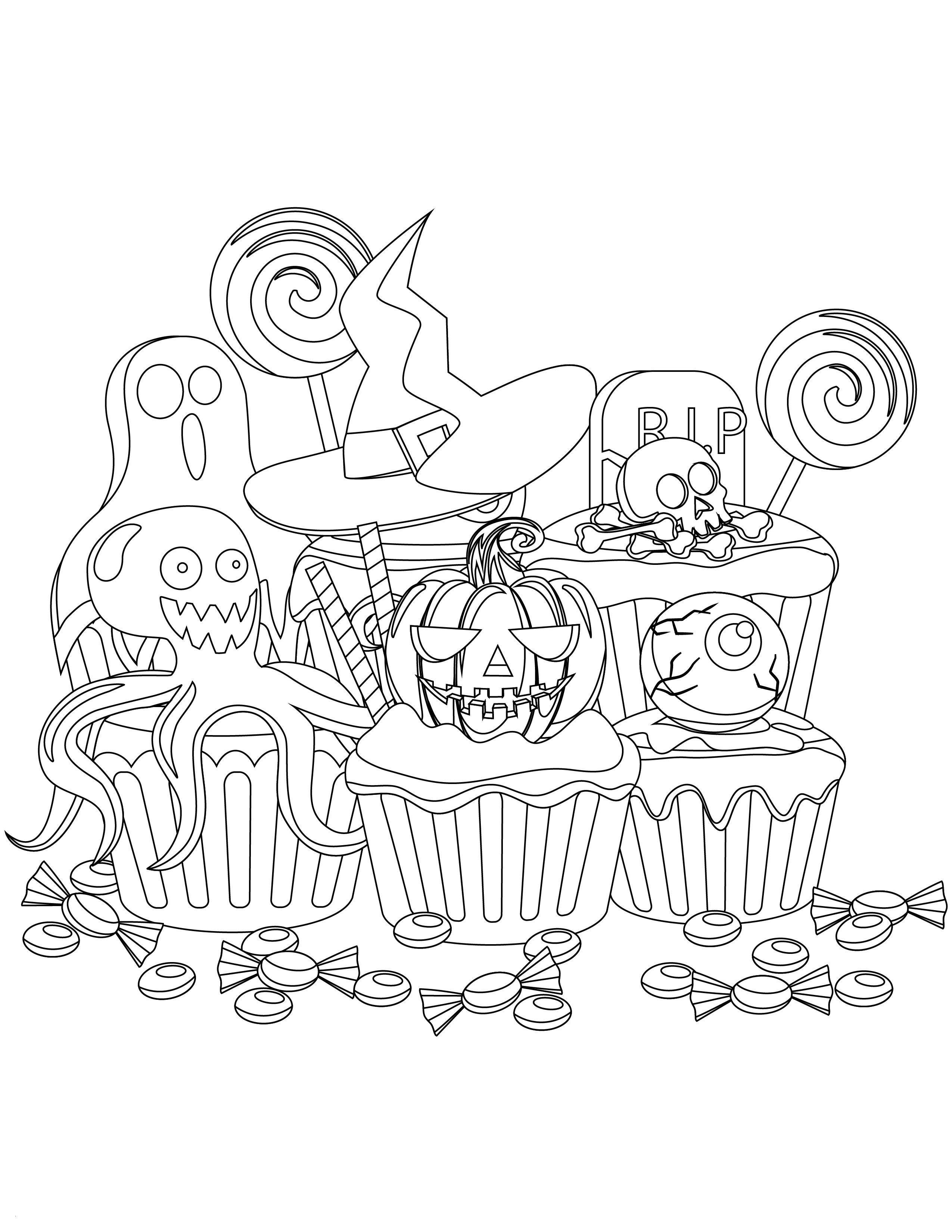 Trolls Halloween Coloring Pages Design