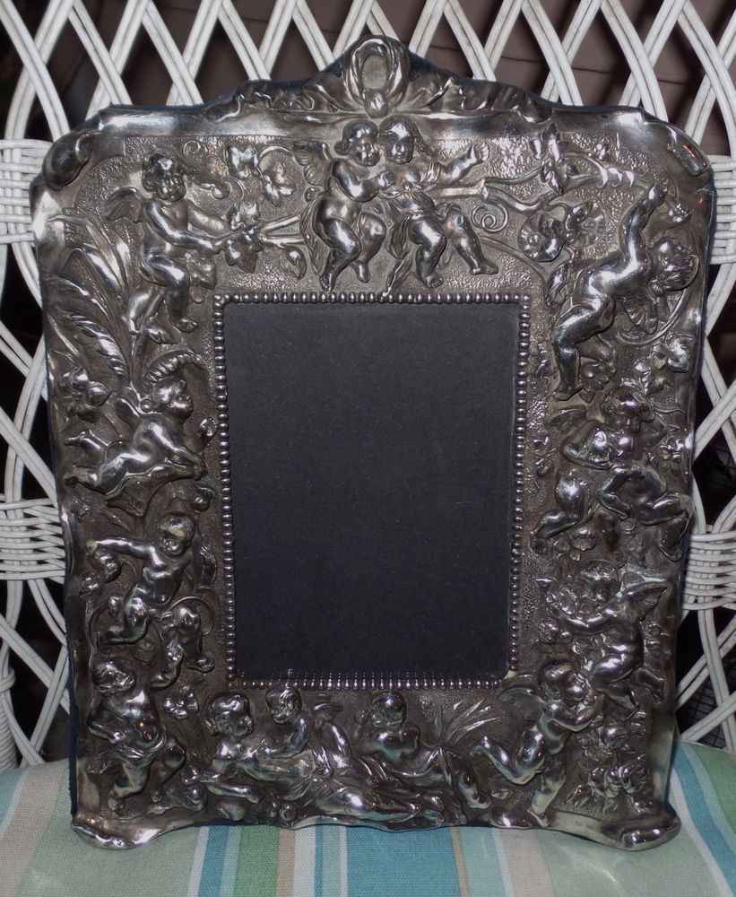 Details About Vtg Sterling Silver 11 X 14 Raimond Picture Frame Felt Barrie Chase Collection Silver Picture Frames Frame Things To Sell