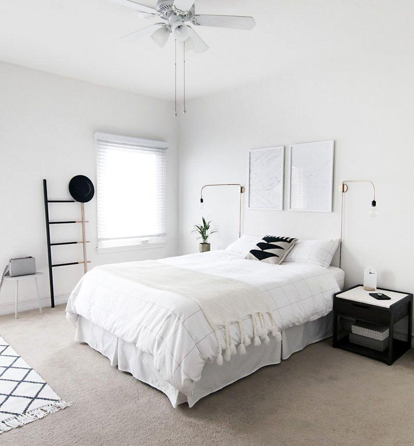 camera da letto bianca semplice   arredo beb   Pinterest   Semplice