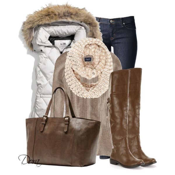 """""""Over the knee boots"""" by doradabrowska on Polyvore"""