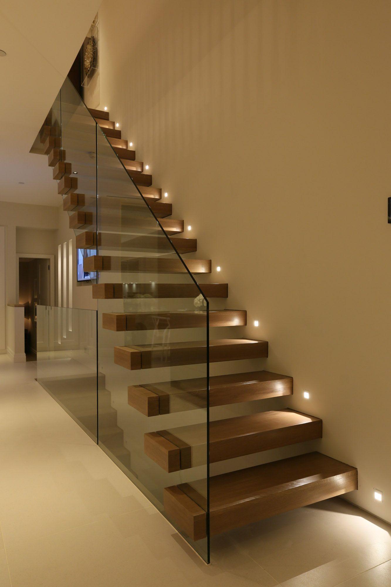 Commercial Basement Stair Lighting: Corridor Lighting (12)