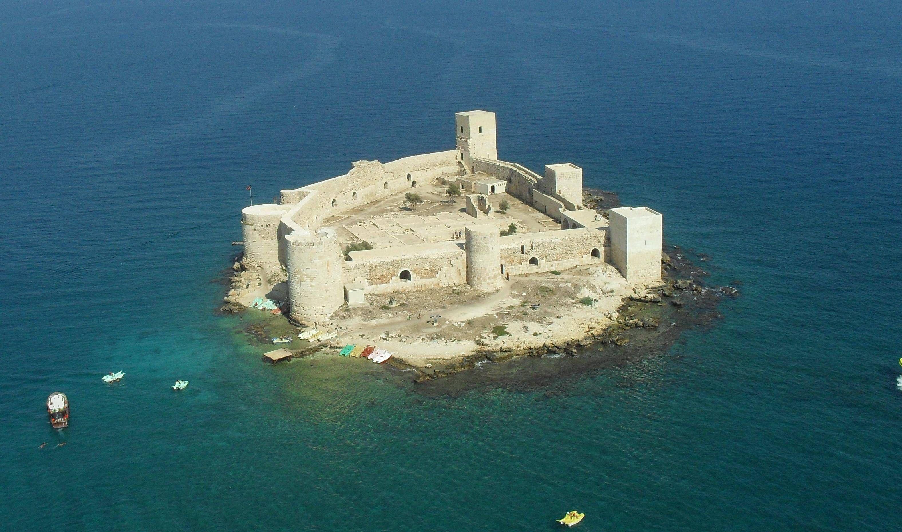 Kızkalesi (Maiden's Castle) in Turkey  ACE Teams: The ...