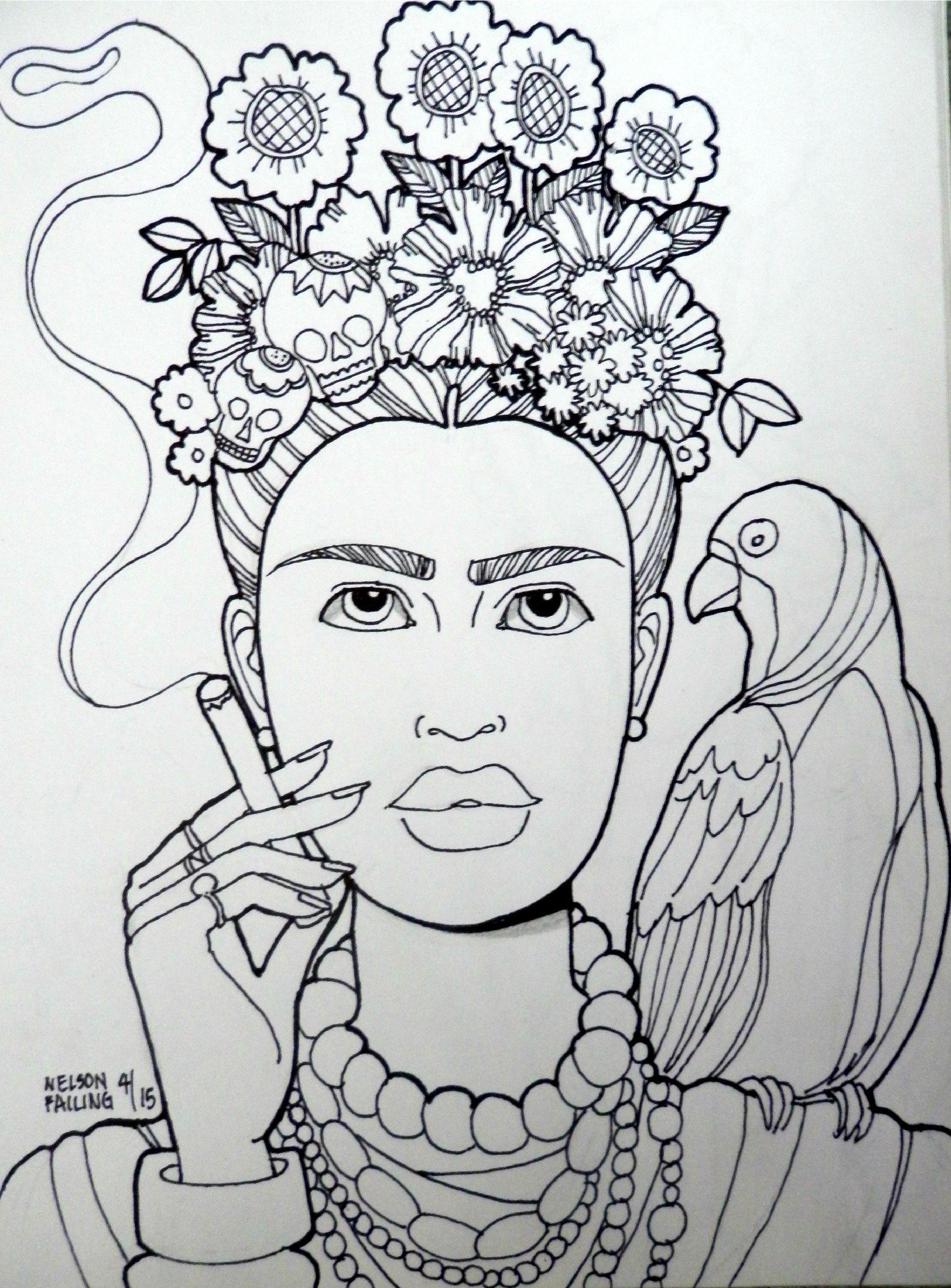 Frida Kahlo Nelson Failing The Art Colony Frida Kahlo