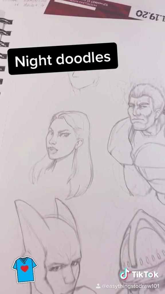 Drawing Page from a Pro