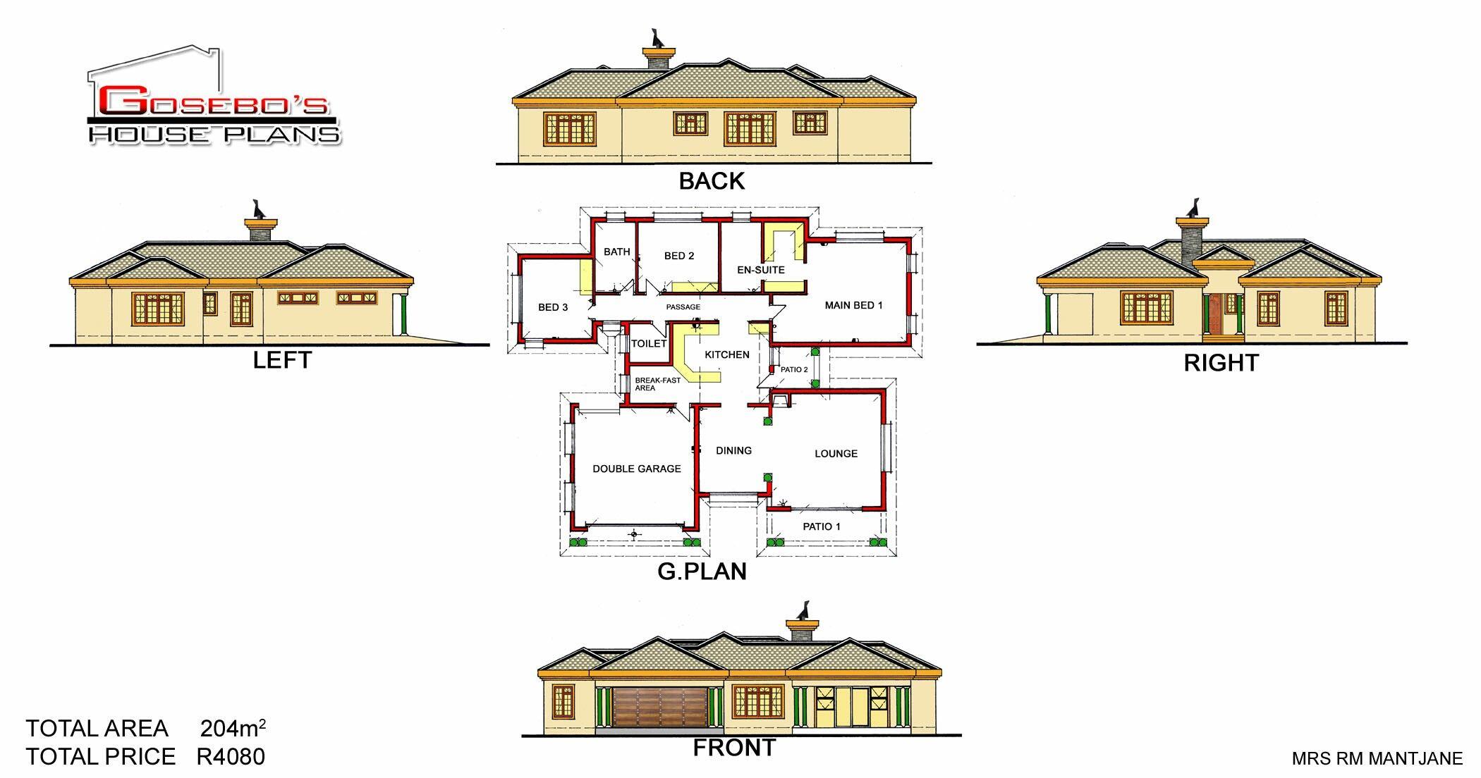 Pin By Gosebo House Plans On Gosebo House Plans House Plans My House Plans Single Storey House Plans