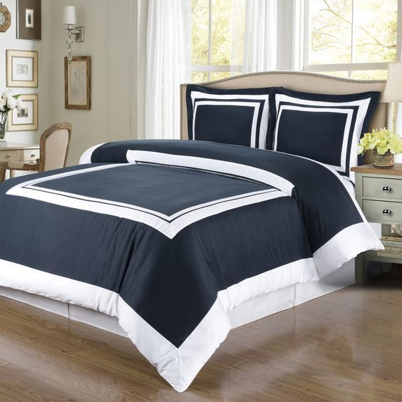 gray white blue grey set comforter foxtrotter and sets bedding co navy bed