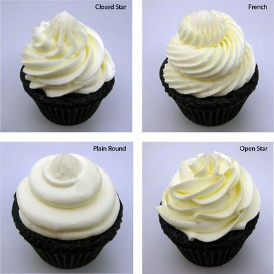 Which icing swirl would you choose?