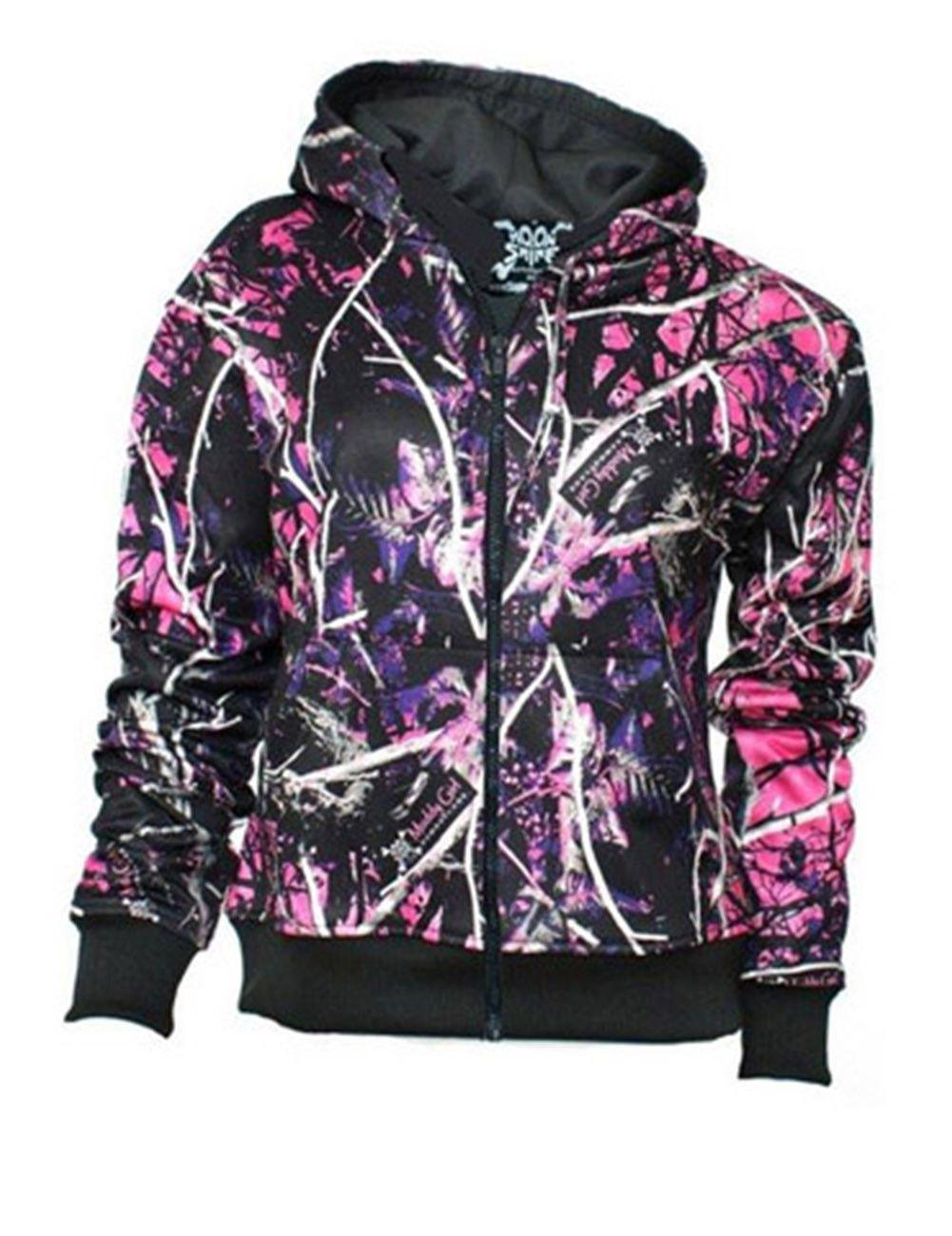 Pink Camo Jacket Woman