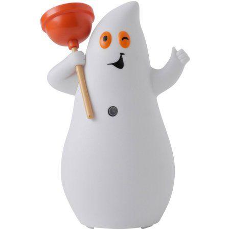 Hallmark Halloween Jokin\u0027 on the John Ghost Halloween Decor - walmart halloween decorations