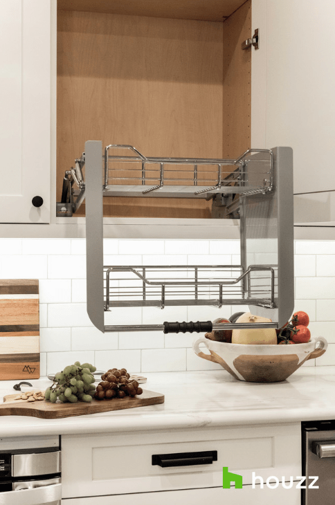 Pull down shelves in the kitchen change EVERYTHING. Adding ...