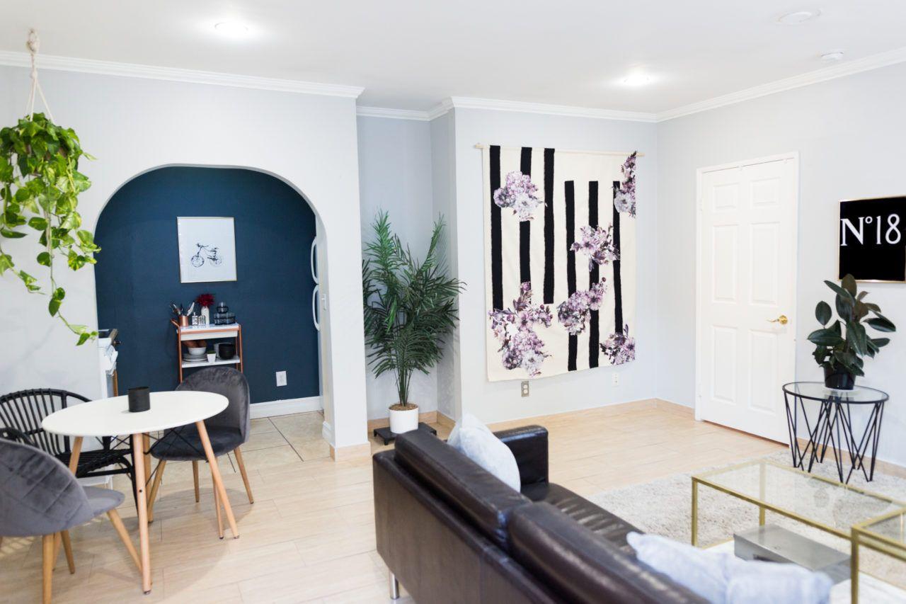Tumblr Minimalist Living Room On A Budget Mr Kate Interior