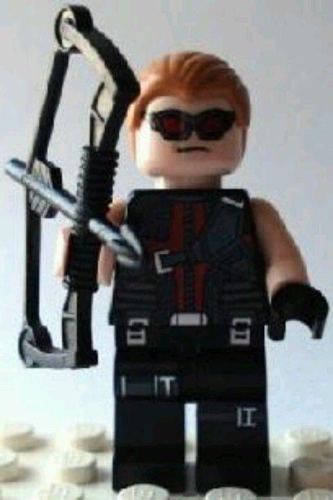 Lego hawkeye | Superhero | Pinterest