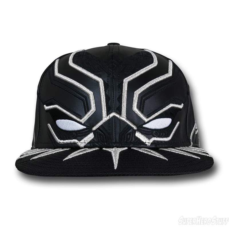 Black Panther Armor New Era 5950 Hat Camisas 92dace507ce