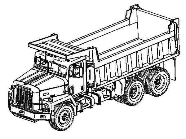Printable 33 Semi Truck Coloring Pages 6876 Semi Truck Coloring