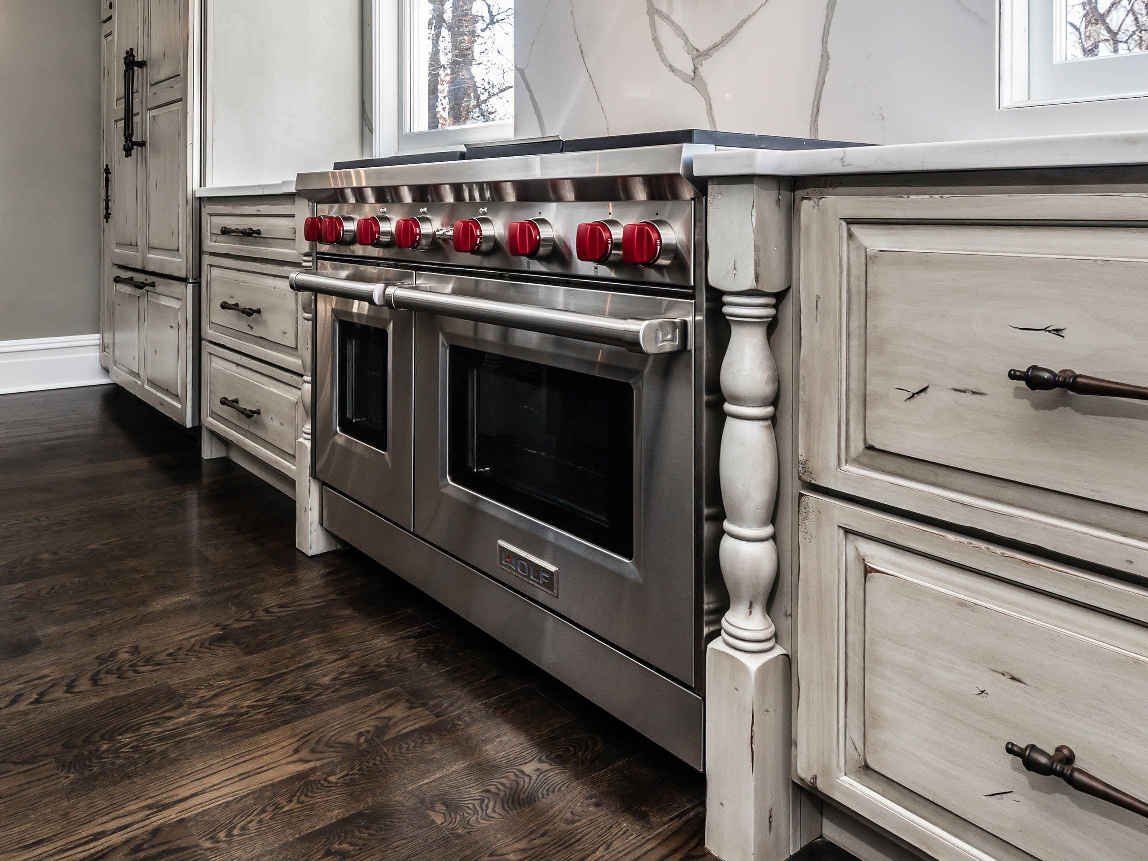 Best Heritage Gray Olde World On Rustic Alder Standard 400 x 300