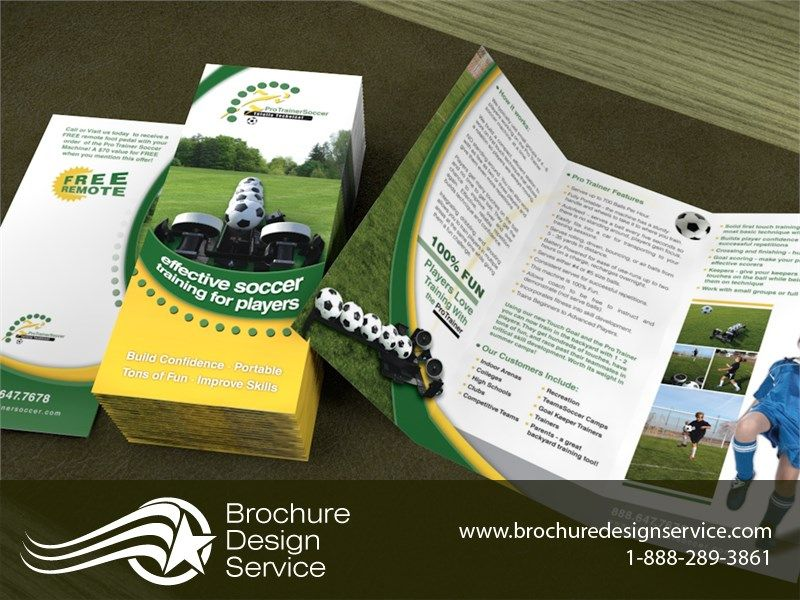 Soccer Brochure Design Designers Ideas Samples  HttpWww