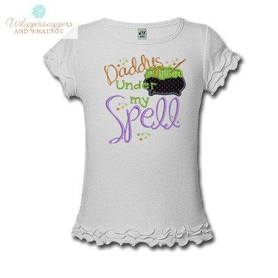 Daddy's Under my Spell Personalized by Whippersnappersandwh