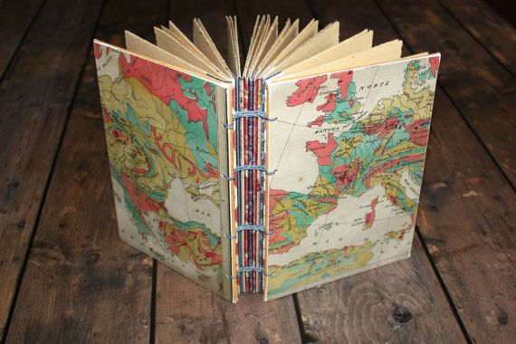 Travel journal world map diary handmade by thenibandquill on etsy travel journal world map diary handmade by thenibandquill on etsy gumiabroncs Images