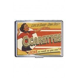 Drag Deep Politically Incorrect Cigarette Case