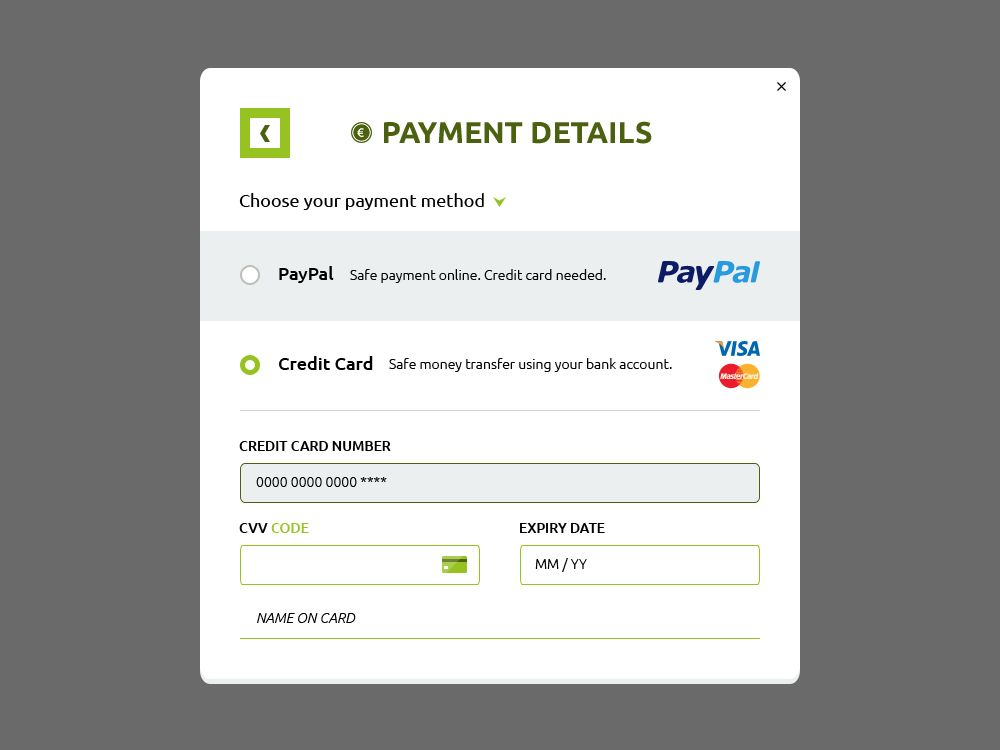 Payment Form Badoo Payment Form Best Cc Payment Forms Images On