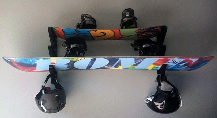 Snowboard Storage Rack Triple Yourboard